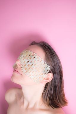 Limited Edition - Handmade Honey Bee Jade Eye Mask - $60.00